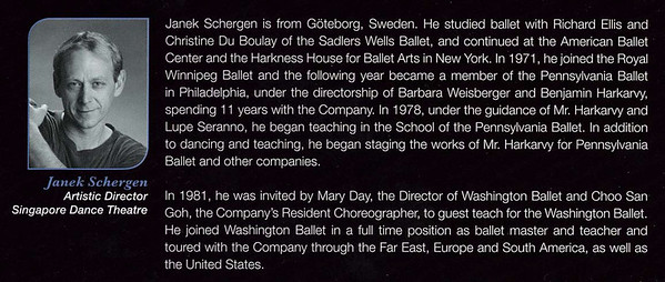 Artistic Director - Janek Schergen