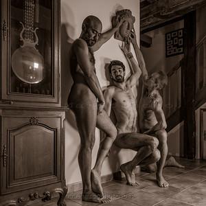 Trio avec Elias, Elyas, Eric