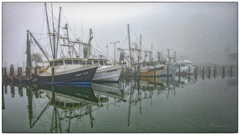 Shrimp Fleet Impressionism