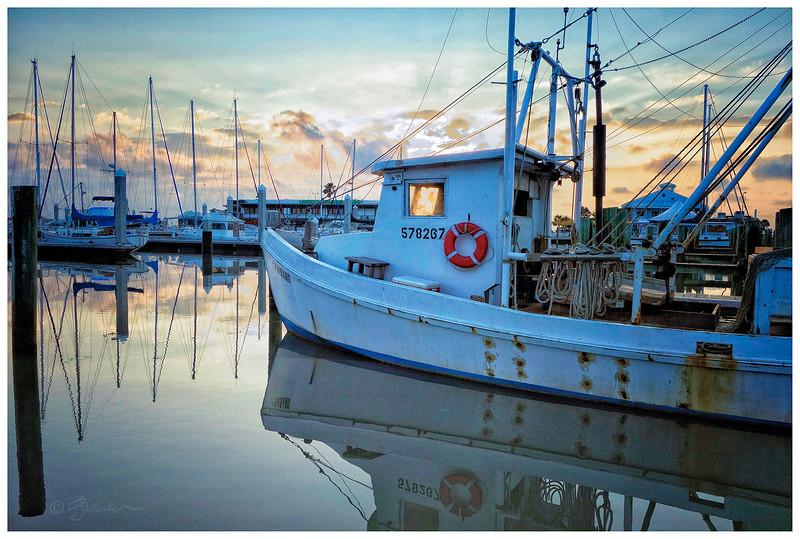 Shrimp Boat Sunrise