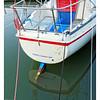 Red White & Blue Sailboat