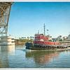 "The Tug ""Phillip K"" Returning to Harbor"