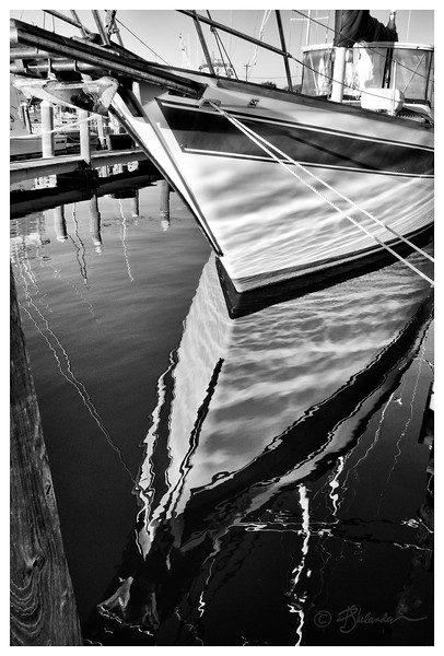 Reflections in Black and White No.2