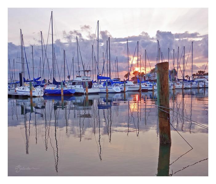 Marina Sunrise #1