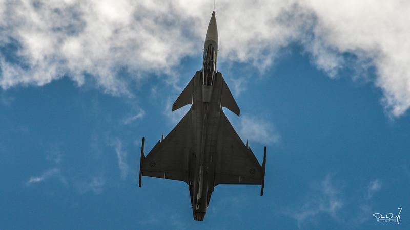 JAS 39 Gripen over Göteborg