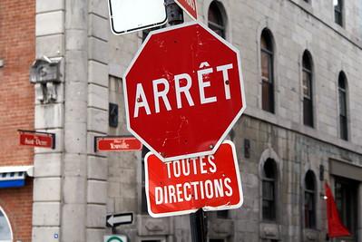 Arrêt | Montréal, Quebec | Canada  - 0008