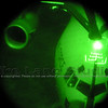 My last Special Operations Aerial Refueling training mission.  This is a SOLL-II C-17 from Charleston, SC shot while holding the camera up to the NVGs.