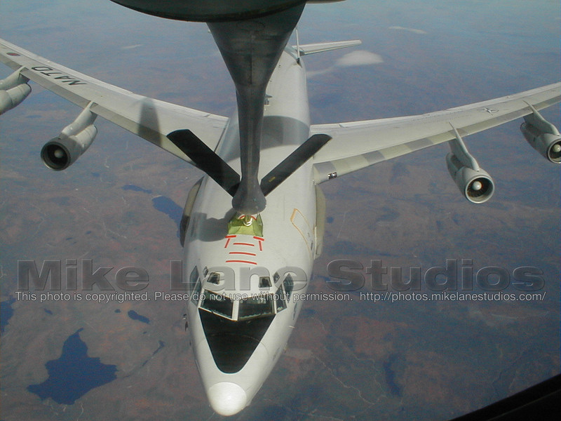 Refuel NATO AWACS over Maine shortly after 9/11