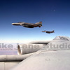 A picture of my fini flight in the KC-135.  We refueled 4 German F-4s over New Mexico.
