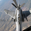 Refueling in a turn.