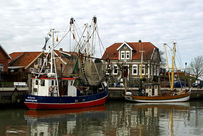 Fischerboot | Neuharlingersiel, Germany - 0058