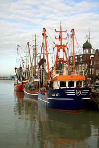 Fischerboot | Neuharlingersiel, Germany - 0059