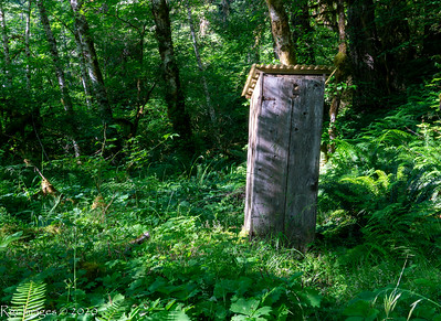 Ranger back country crapper, Elkhorn Ranger Station, ONP