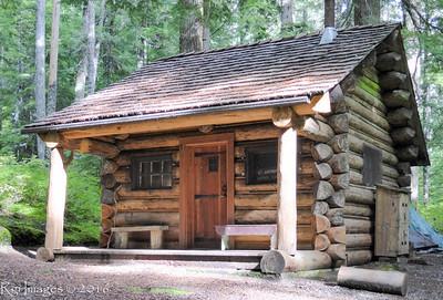 At. Andrews patrol cabin.