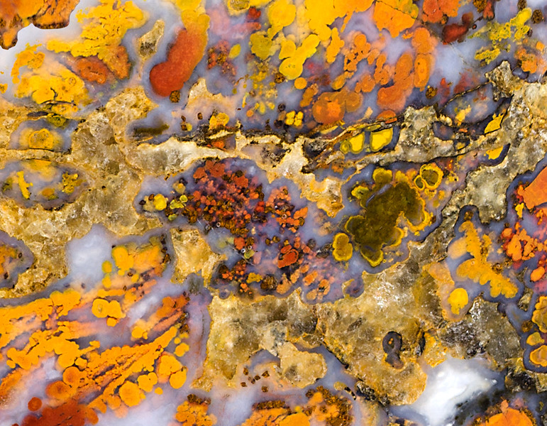 Cathedral plume agate