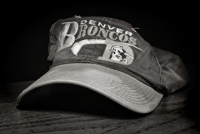 Old Denver Broncos Hat
