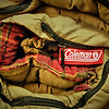 Old Colman Sleeping Bag