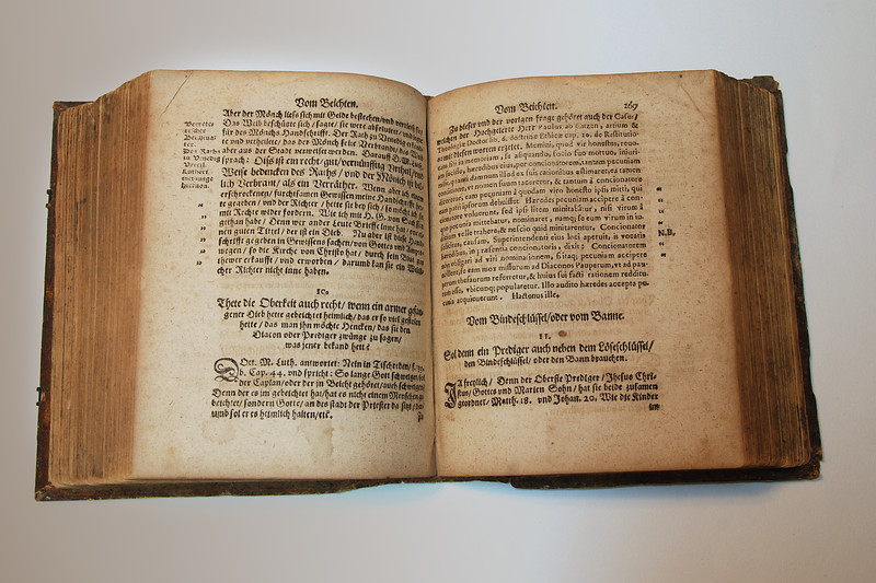 Pastorale Lutheri: Old Book 1586