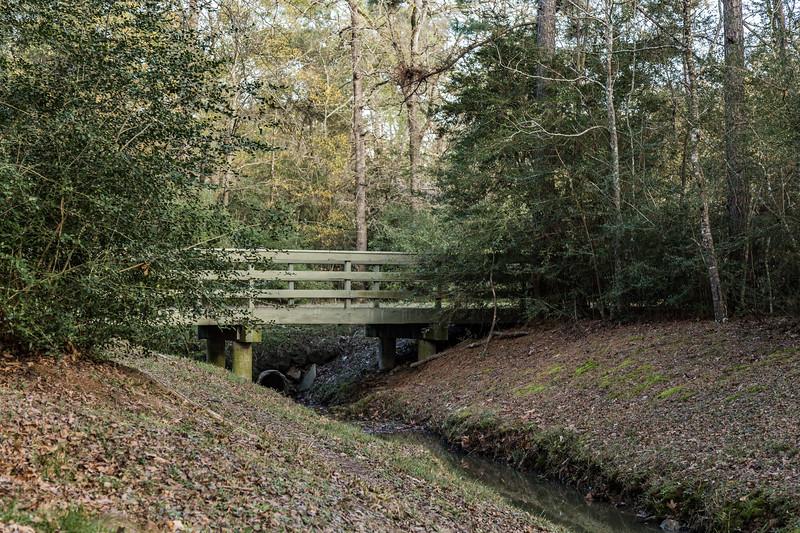 A Bike Path Bridge - Grogans Mill