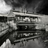 And Quiet Flows the Don ~ Steelworks on Sheffield's River Don by Brightside Weir. 2009.
