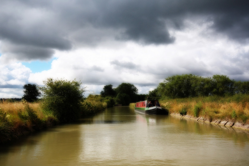 Riverbank ~ The Oxford Canal, United Kingdom