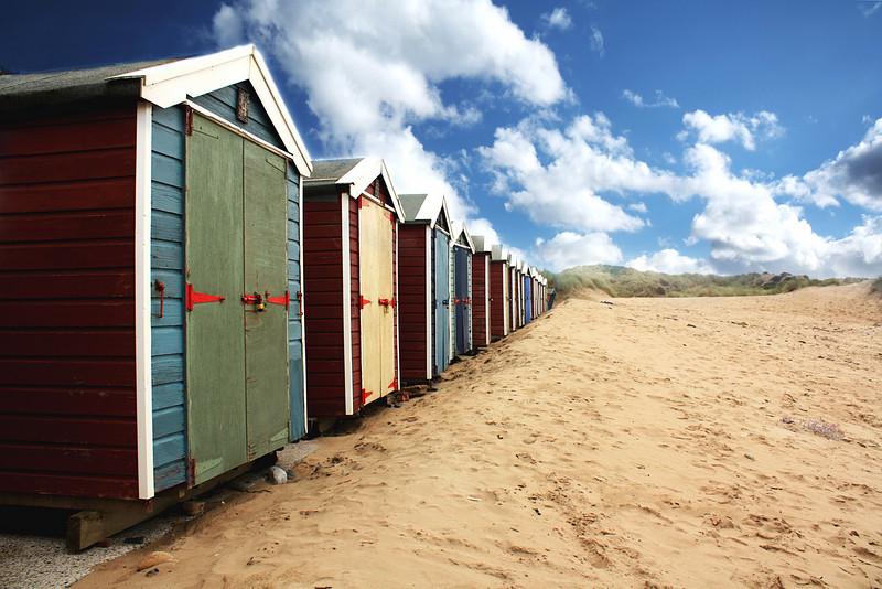 The Beach Huts ~ Croyde, Devon, United Kingdom