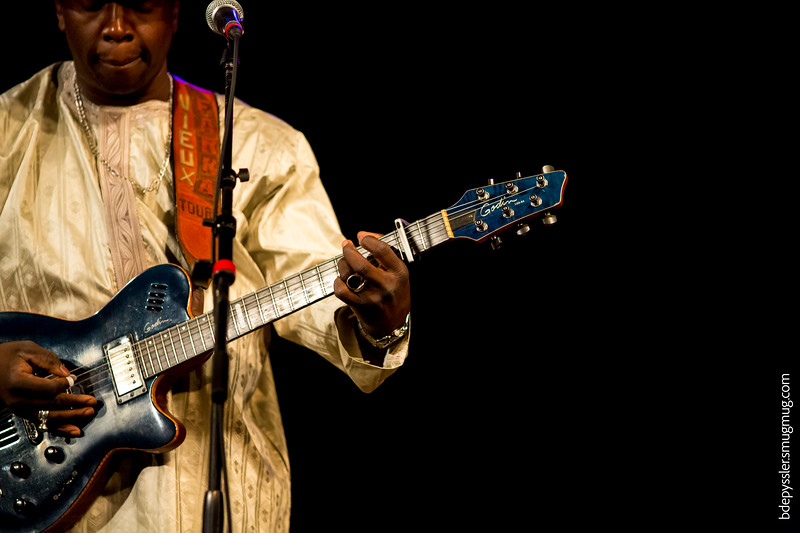 Vieux Farka Toure at the Arts Center ll Carrboro, NC (March 2018)