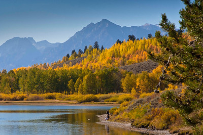North to Alaska Calendar (Grand Teton National Park, Wyoming) November