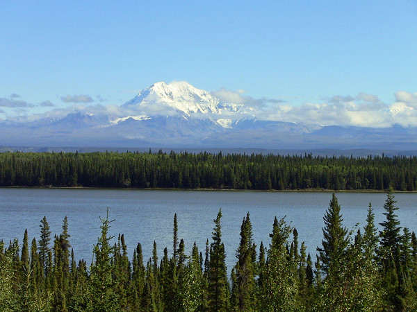 North to Alaska Calendar (Mount Drum, Wrangell Mountains, Alaska) August