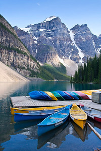 North To Alaska Calendar (Moraine Lake, Banff National Park, Alberta, Canada)  February