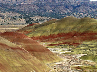 North to Alaska Calendar (John Day Fossil Beds National Monument, Oregon) October