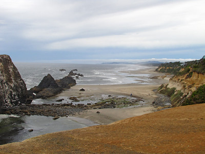 View from Highway 101, Oregon Coastline (1)