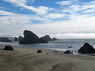 View from Highway 101, Oregon Coastline (3)