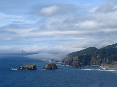 View from Highway 101, Oregon Coastline (4)