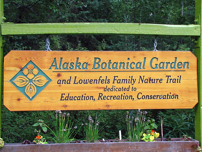 Alaska Botanical Garden in Anchorage, Alaska (1)
