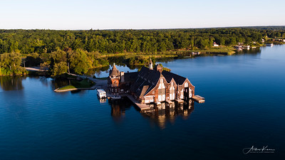 Boldt Castle Yacht Boathouse
