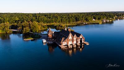Boldt Castle Yacht Boathouse