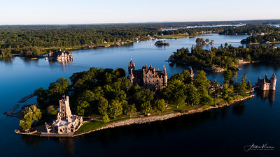 Boldt Castle at Sunrise #39