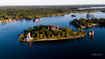 Boldt Castle at Sunrise #24