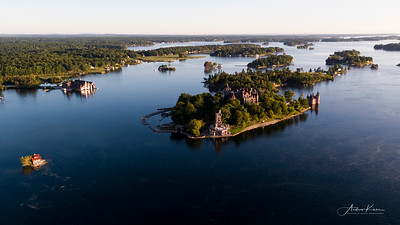 Boldt Castle at Sunrise #35