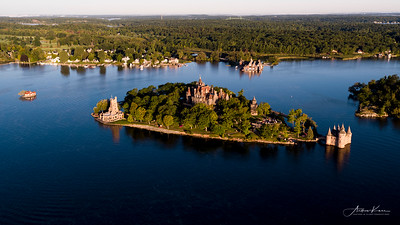 Boldt Castle at Sunrise #25