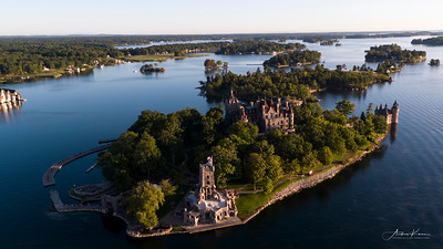 Boldt Castle at Sunrise #41