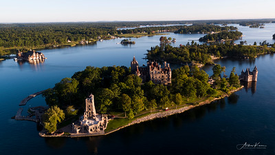 Boldt Castle at Sunrise #40