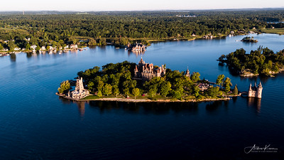 Boldt Castle at Sunrise #22