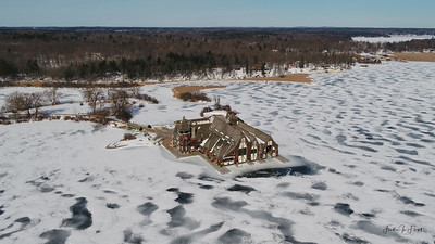 Boldt Castle Yacht House - February 2019