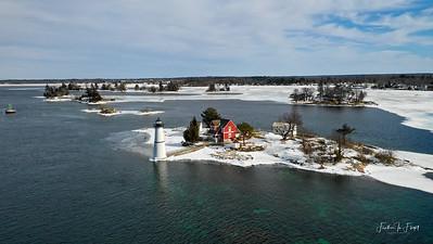 Rock Island Lighthouse 2 - February 2019