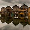 Stilt House-  Inle Lake, Myanmar