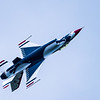 USAF Thunderbird #6 ~ Air Show ~ Willow Run Airport, Michigan