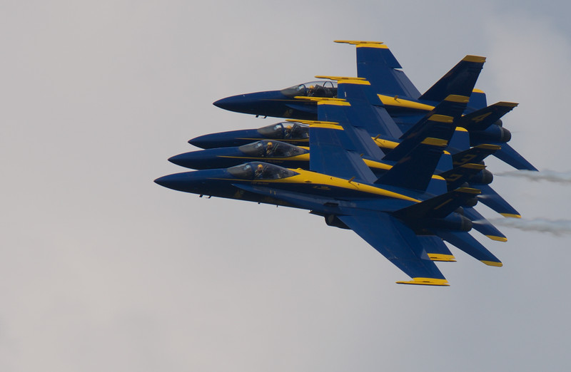 U.S. Navy Blue Angels ~ Thunder Over Michigan