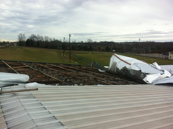 This Photo is courtesy of David Abbott the Owner of Barren County Metal & Truss.